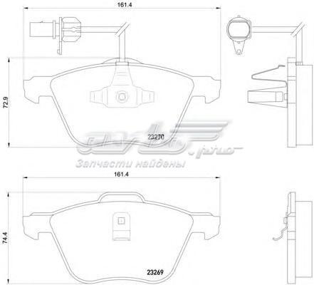 Колодки тормозные дисковые передн ford (--колодки тормозные дисковые)
