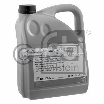 Жидкость гидравлическая! красная 5l для акпп atf dexron iid (масло трансм. акпп , 5л)