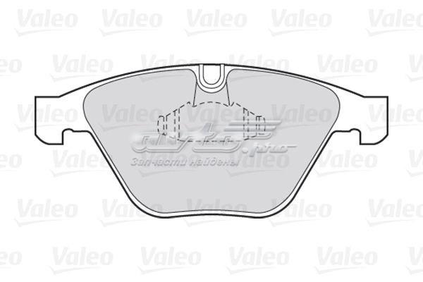 Колодки дисковые передние (колодки тормозные передние, комплект/ . bmw/)