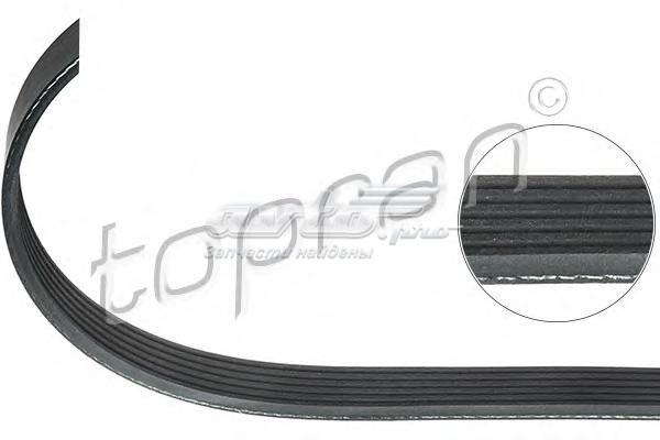 Ремень поликлиновой 6pkx1246/epdm ford