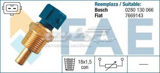 Датчик температуры (датчик упр. инжектором (толстый) tipo , uno , dedra 1.4-1.6)