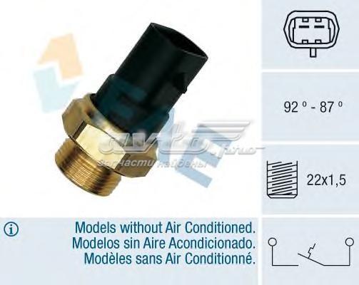Датчик включения вентилятора (термовыключатель, вентилятор радиатора)