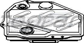 Фильтр акпп mercedes (фильтр акпп\ mb w124/w126/w140/w210 80>)