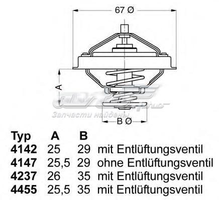 Термостат (с прокладкой) bmw (термостаты wahler)