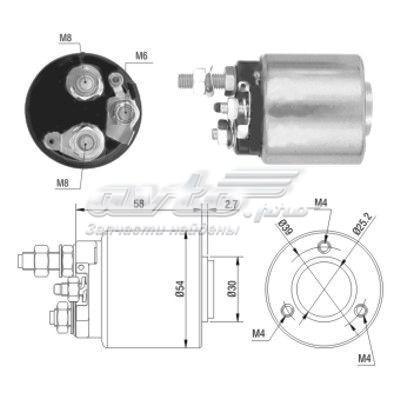 Реле втягивающее mercedes e 200 cdi (w211)   opel astra g 1.6 (тяговое реле, стартер)