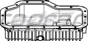 Поддон картера bmw (поддон масляный двигателя)