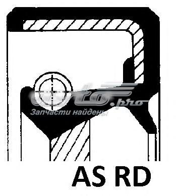 Сальник 35x50x10 as f rd vmq alfa 155 1.8 - 2.0ts. 92> renault r19/clio 1.1 - 1.4 88> (уплотняющее кольцо, коленчатый вал / 35x50x10 as f rd vmq)