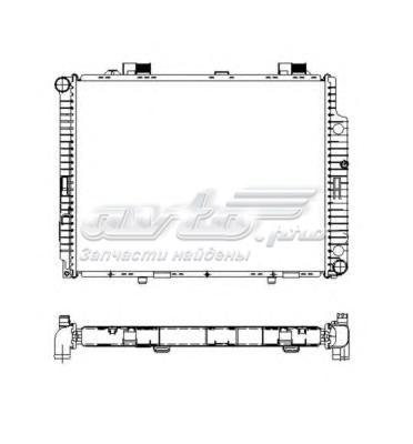Радиатор системы охлаждения (радиатор двигателя)