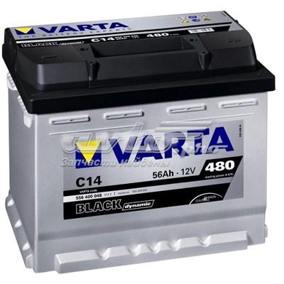 Аккумуляторная батарея! black dynamic 19.5/17.9 евро 56ah 480a 242/175/190 (батарея аккумуляторная 56а/ч 480а 12в обратная поляр. стандартные клеммы)