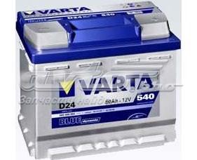 Аккумуляторная батарея! blue dynamic 19.5/17.9 рус 60ah 540a 242/175/190 (батарея аккумуляторная 60а/ч 540а 12в прямая поляр. стандартные клеммы)