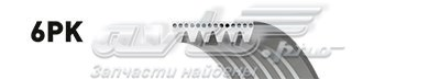 Поликлиновый ремень /  micro-v xf / 68401 (ремень поликлиновый)