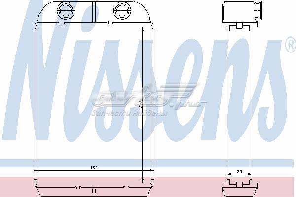 Радиатор отопителя fiat (heizung fiat stilo 01-)
