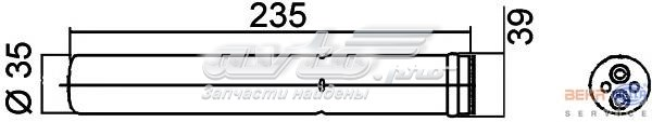 Осушитель suzuki swift iii 05=> (trockner)
