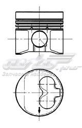Поршень audi/vw/seat 1.9 mot.aazabl d=80.51мм /1.75-2-3/ +1.00 (поршень комплект третий ремонт)