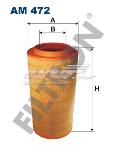 Фильтр воздушный filtron am 472 mercedes actros ii (фильтр воздушный mercedes actros ii, axor ii 9/04-> h=533 d=267/170)