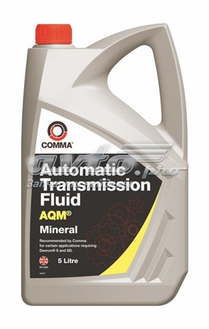 Aqm (5l)_жидкость гидравлическая (масло трансмиссионное atf comma 5л aqm automatic transmition fluid dexron ii/iid)
