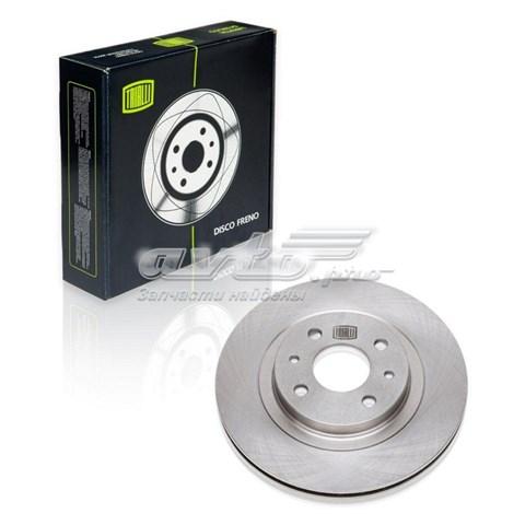 Диск торм. перед. для а/м ваз 2112 r-14 (df 142) (диск тормозной)