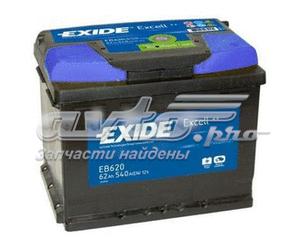 Акб excell 12v 62ah 540a 242x175x190 /-+/ (батарея аккумуляторная 62а/ч 540а 12в обратная полярн. стандартные клеммы)
