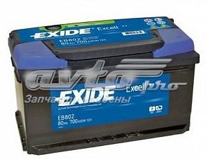 Excell_аккумуляторная батарея! 19.5/17.9 евро 80ah 700a 315/175/175 (батарея аккумуляторная 80а/ч 700а 12в обратная полярн. стандартные клеммы)