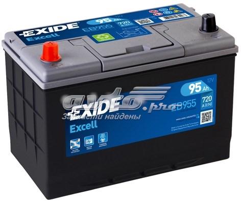 Excell_аккумуляторная батарея! 19.5/17.9 рус 95ah 720a 306/173/222 (батарея аккумуляторная 95а/ч 720а 12в прямая полярн. выносные клеммы)