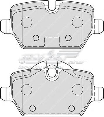 Колодки тормозные bmw e81/e87/e90 1.6-2.0 04- задние (комплект тормозных колодок, дисковый тормоз)