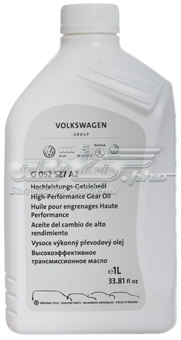 Масло трансмиссионное high performance gear oil 1 л