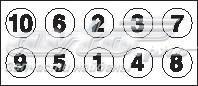 Комплект болтов гбц opel, isuzu 1.5d/1.7td 87> (комплект болтов головки цилидра)
