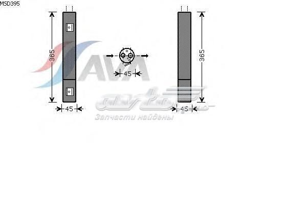 Осушитель кондиционера mercedes-benz (осушитель, кондиционер)