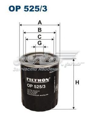 Фильтр масляный (фильтр масляный filtron)