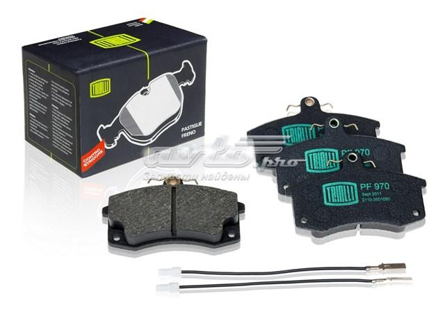 Колодки тормозные ваз 2110/2111/2112 передние с датчиком (колодки тормозные дисковые)