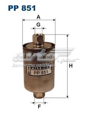 Фильтр топливный lada samara/niva инжектор (фильтр топливный filtron)