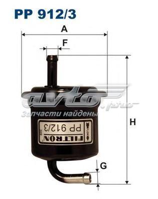 Фильтр топливный pp912/3 (фильтр топливный filtron)