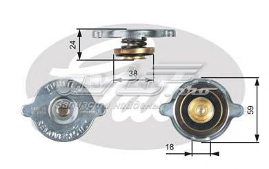 Крышка радиатора rc113 (7410-30013) (крышка, радиатор)