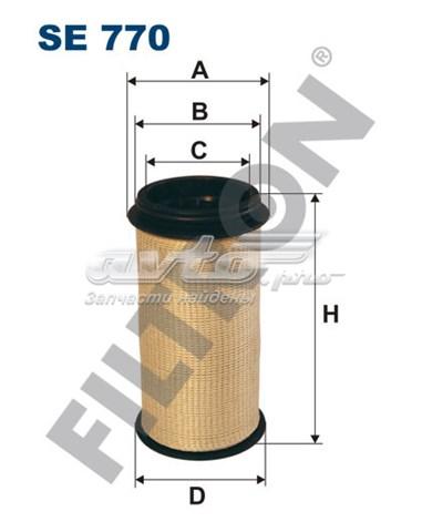 Сапун !фильтр-маслоуловитель 64.5x48x120 (фильтр воздушный)