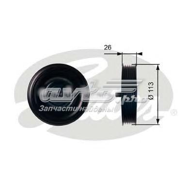 Ролик t36411 (7803-21511) (паразитный / ведущий ролик, поликлиновой ремень)