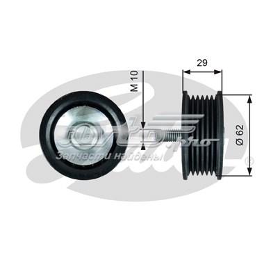 Ролик обводной t36443 (7803-21543) (ролик приводного ремня)