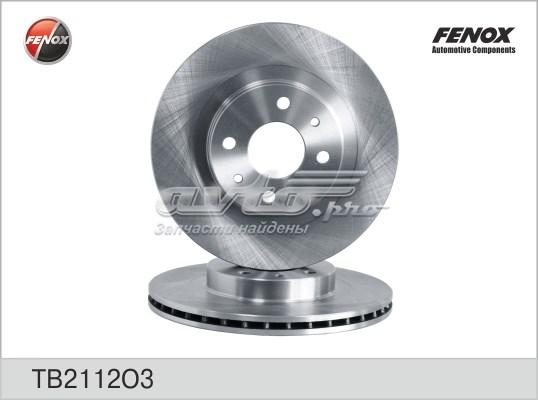 Диск тормозной вентил. ваз 2112 tb2112o3