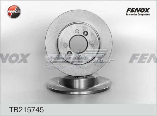Диск тормозной задний (тормозной диск)