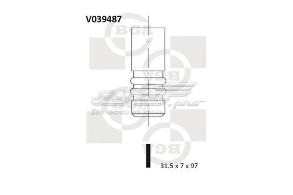 Клапан выпускной! 31.5x7x96.9 (клапан 31.5x7.0x97.0 ex vw golf/passat/sharan 1.9tdi 96-)