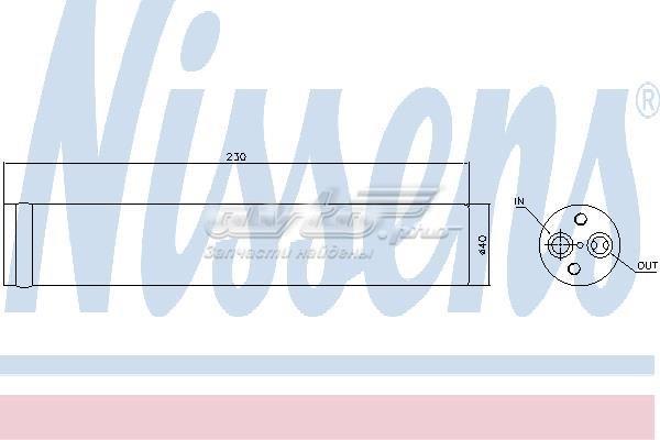 Осушитель кондиционера mitsubishi outlander 01-08, mitsubishi lancer 95-13, 95426, mr500038, mr500065, nissens