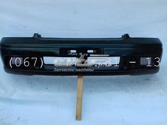 Бампер передний цвет зеленый (57704ae000) арт.00263 subaru legacy (98-00) до рестайл седан есть царапины и потертости. под покраску