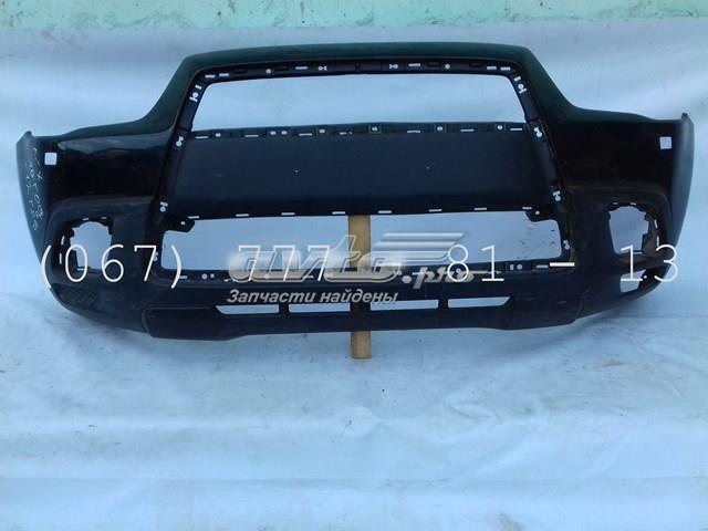 Бампер передний цвет черный под омыватель (6400c950) арт.00312 mitsubishi asx ga (10-12) до рестайл есть царапины и потертости