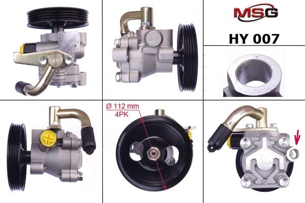 Насос гур новый hyundai -h-1 / starex 97-04,h-100-04 ,hyundai h100 04-