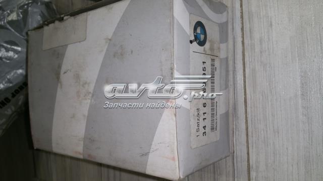 Колодка торм. bmw 1 (e87/e81)(09/04-), 3 (e90/e91) передн.