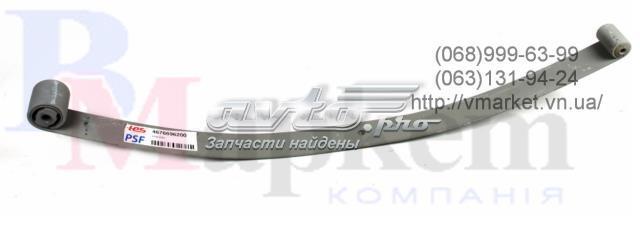 Рессора задняя коренная fiat doblo cargo 01- (однолистовая) (13mm)
