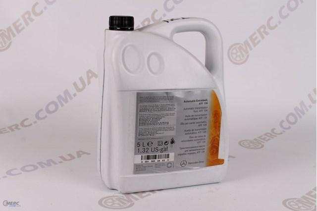 Масло mercedes для акпп 5l (mb 236.14)