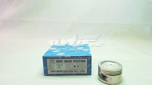 поршень в комплекте на 1 цилиндр, 1-й ремонт (+0,25)  NP1013