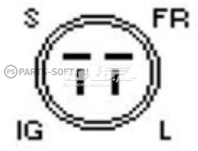 реле-регулятор генератора (реле зарядки)  yr637