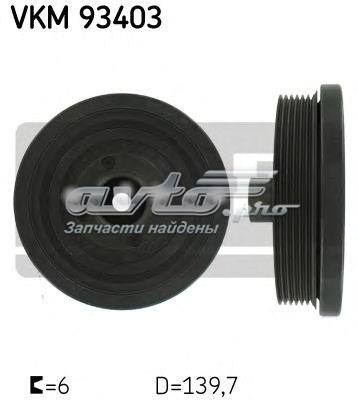 шкив коленвала  VKM93403