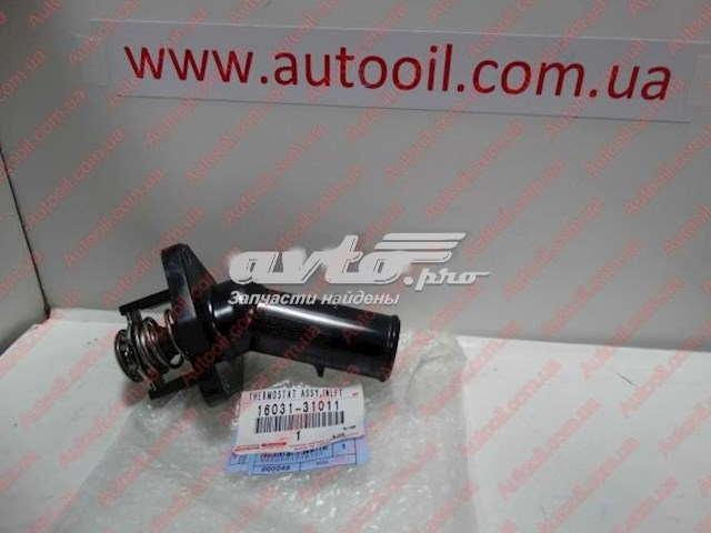 W//THERMOSTAT 16031-31011 1603131011 Genuine Toyota WATER INLET SUB-ASSY